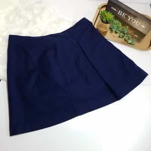 Lauren Ralph Lauren Navy Skirt Size 16 Pleated